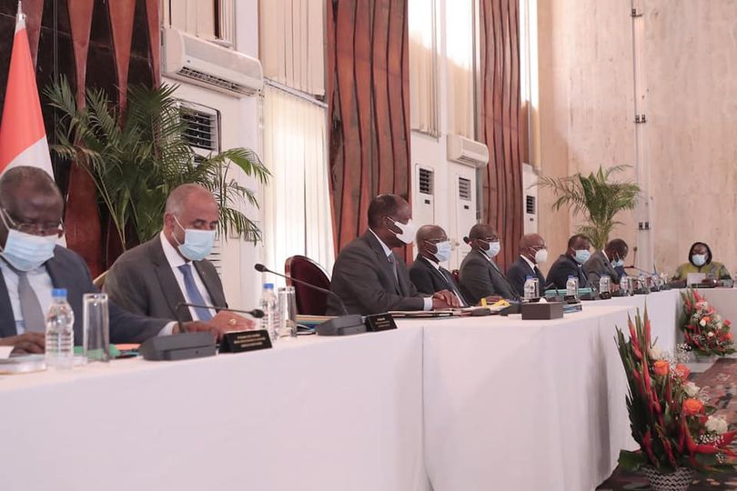 The Council of Ministers of Côte d'Ivoire